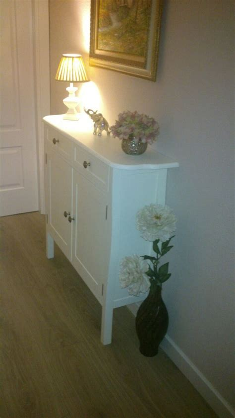 Mueble zapatero lacado en blanco para pasillo. | Muebles ...