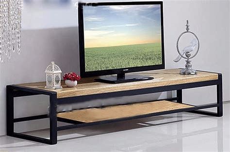 Mueble,rack Tv Industrial Rustica Hierro Y Madera,12 Pago ...