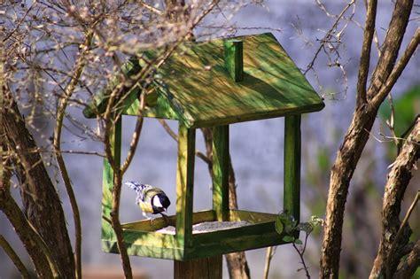 Muebles Auxiliares de Madera: Comederos para pájaros