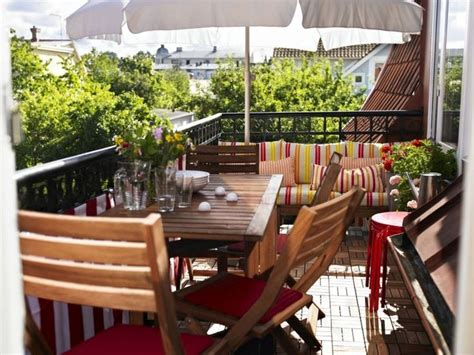 Muebles bonitos para el balcón o la terraza moderna   en ...
