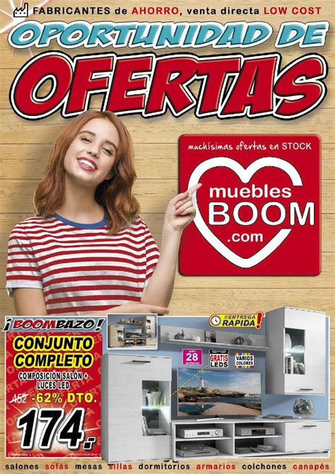 Muebles BOOM Oferta actual 01.07   31.08.2019   folleto 24.com