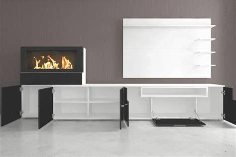 Muebles Colectivia   Mueble de salón Olympo con chimenea ...