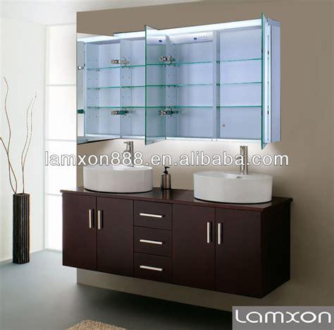 Muebles de baño armario con espejo con luz LED Tocadores ...