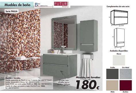 Muebles de baño en catálogo Bricor 2017 | iMuebles