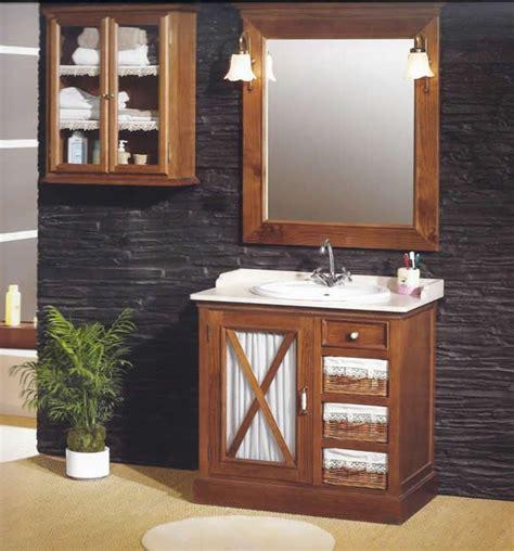 Muebles de baño, Ofertas muebles, Estilo rústico