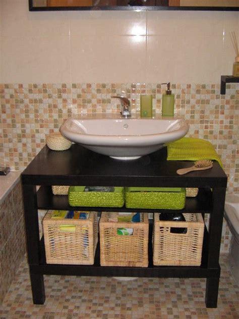 Muebles De Baño Sin Quitar Lavabo:tunear mesa ikea bano ...