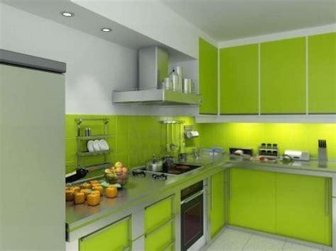 Muebles de cocina de color verde