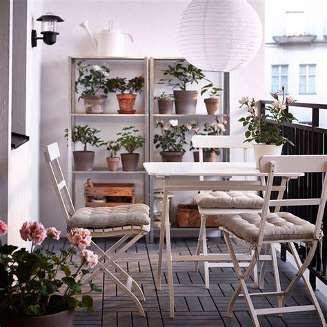 Muebles de exterior de IKEA: catálogo 2014