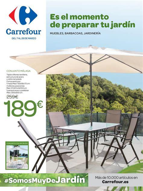 Muebles De Jardin Carrefour Catalogo 2020