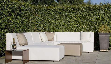 muebles de jardín Conjunto sofás exterior  Simple Line ...