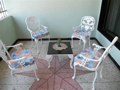 Muebles De Jardin De Hierro Fundido Recibos,comedores ...