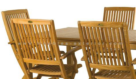 Muebles de Jardín de teca