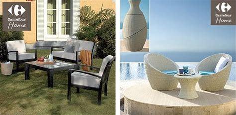 Muebles de jardín en Carrefour