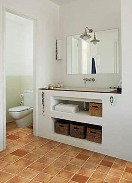 Muebles de obra para baños pequeños | BAÑOS | Muebles ...