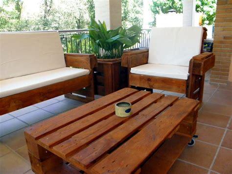 Muebles de palé para el jardín