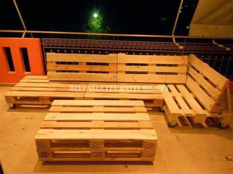 Muebles de palets: Sofa para terraza hecho con palets ...