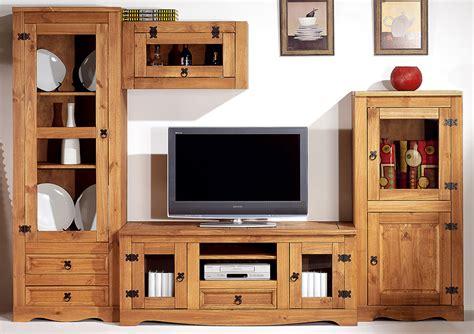 Muebles de Salon | Composicion en Madera Maciza | 1 SAL MAC 04