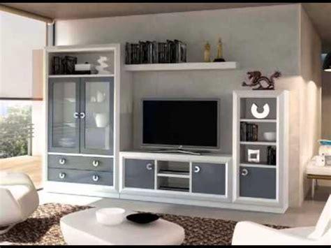 muebles de salon con vitrinas expositores y muebles de tv ...