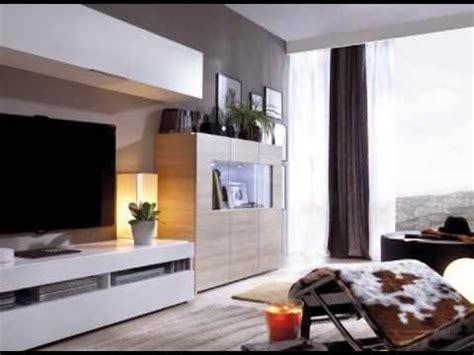 muebles de salon en colores blanco y madera   YouTube