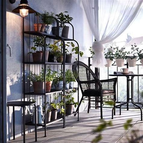 Muebles de terraza para espacios pequeños by Ikea ...
