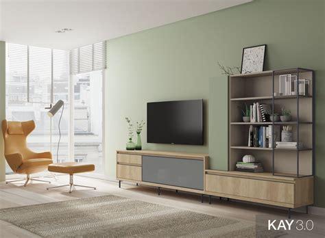 Muebles modernos para el salón que puedes combinar de color