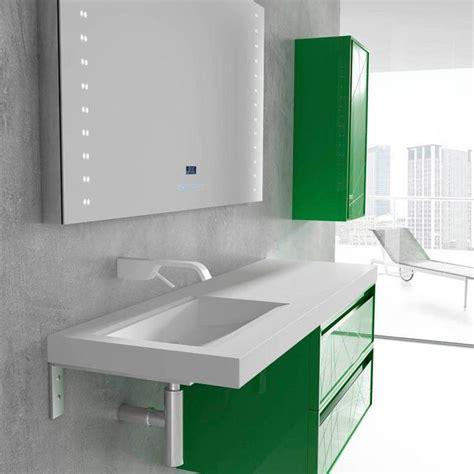 Muebles para baño color verde #Mibaño | Muebles de baño ...