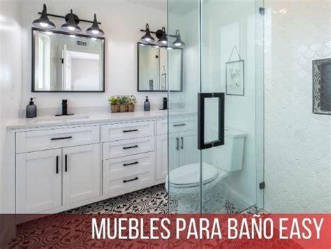 Muebles para Baño Easy 【 Catálogo y Descuentos 2021