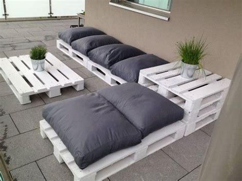 Muebles para el jardín con palets