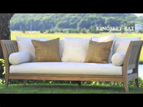 Muebles para exterior de madera de Teca Kingsley Bate ...