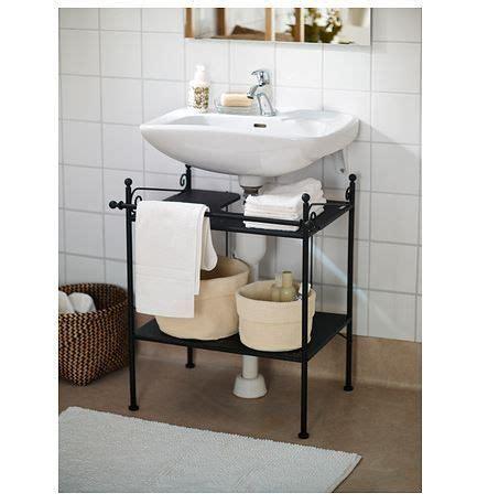 Muebles para lavabos con pedestal metálico | Muebles de ...
