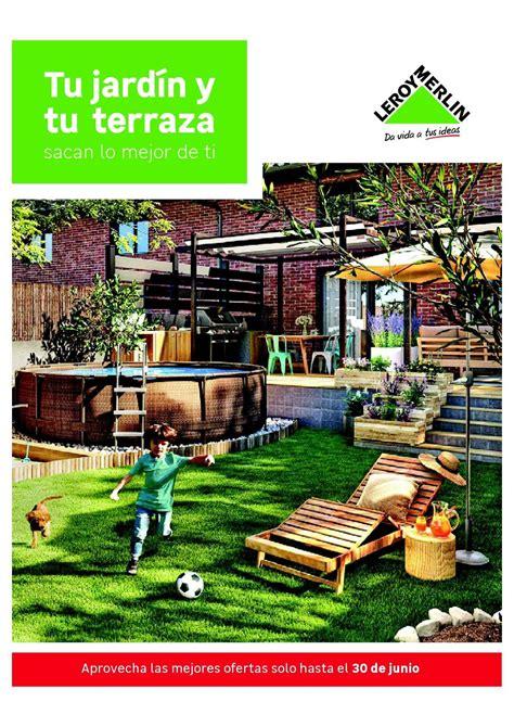 Muebles para terraza y jardín de Leroy Merlin 2020 ...