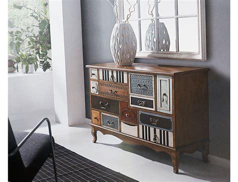Muebles recibidor de diseño y con colores vintage  17275 ...