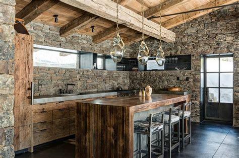 Muebles rústicos para la cocina   20 opciones originales