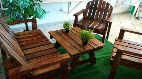 Muebles Rusticos Para Patio O Jardin Nuevos   $ 3,200.00 ...