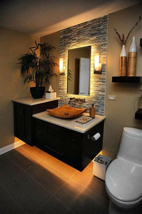 Muebles suspendidos baño   Diseño de interiores de baño ...