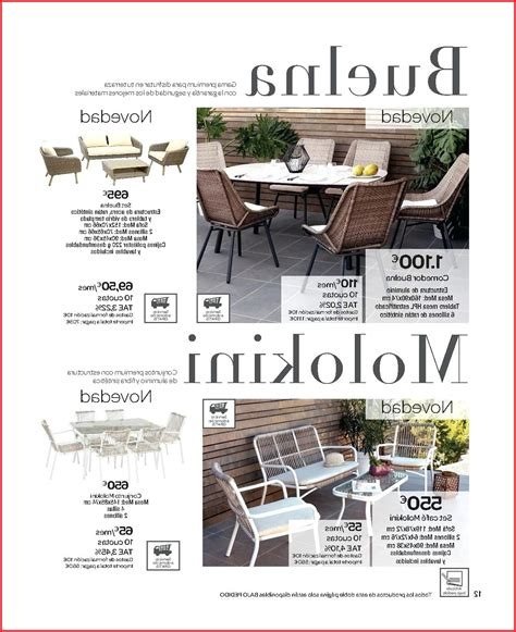 Muebles Terraza Carrefour 2016