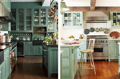 Muebles verdes para decorar tu cocina ¿te atreves? | Decoora