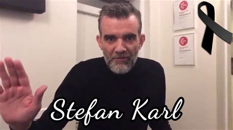Muere Stefan Karl y último vídeo de el hablando sobre su ...