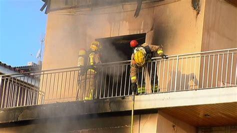 Muere un anciano en un incendio en Sant Boi de Llobregat