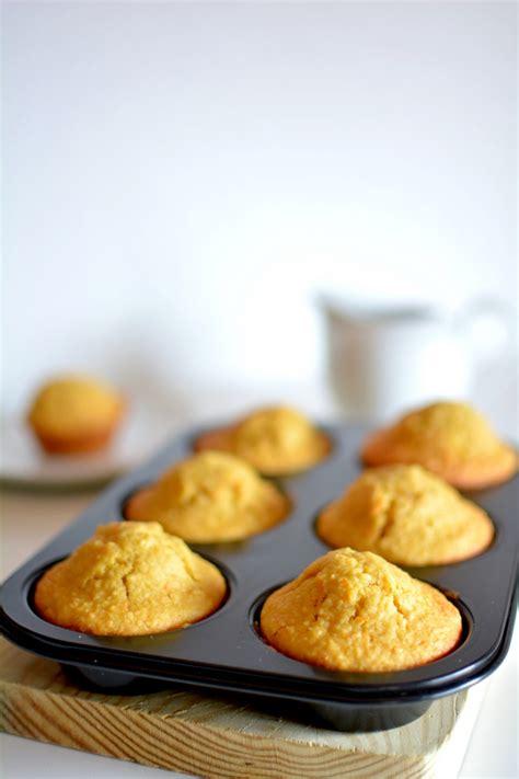 Muffins de coco con zanahoria   Dulcespostres.com