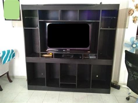 Multi Mueble Para Tv Y Equipo De Sonido En Madera   $ 650 ...