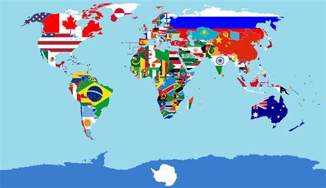 Multi National Flag Maps: Multi National Flag Maps