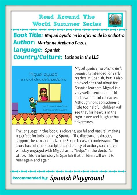 Multicultural Books: Read Around the World   Spanish ...