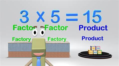 Multiplication Vocabulary   Math Video Elementary Kids ...