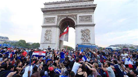 Mundial 2018 | Francia se echa a la calle para celebrar su ...