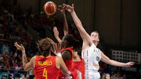 Mundial Femenino de baloncesto 2018: Bélgica vs España: La ...