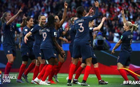 Mundial Francia 2019: Francia Femenil vence 4 0 a Corea ...