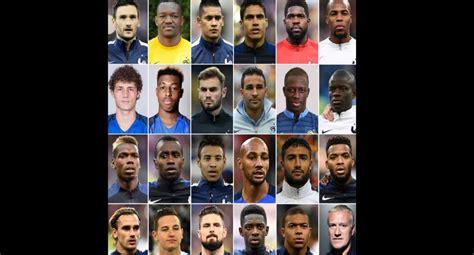 Mundial: Rusia 2018: Francia presentó lista de 23 ...