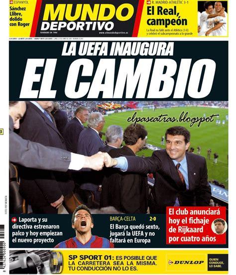 Mundo Deportivo  23 de junio de 2003  | Mundo deportivo ...