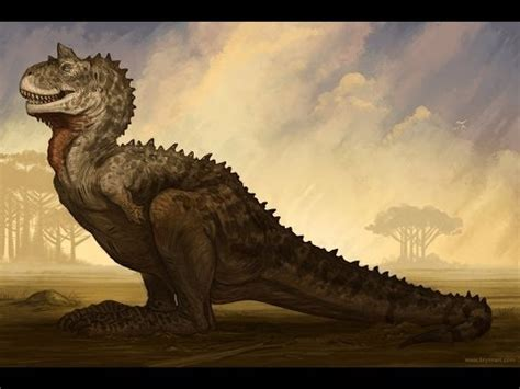 Mundo Saurio:  El Carnotaurus    YouTube
